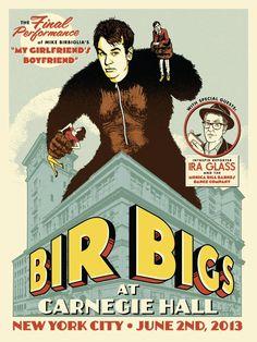 Mike Birbiglia @ Carnegie Hall Poster