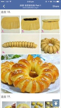 Baking Mom: Assorted buns - Japanese Milk Dough with Tangzhong Method