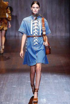 Gucci Pret A Porter S/S 2015 Pasarela Mián