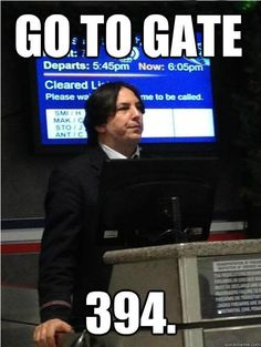 Potterheads are totally losing their sh*t over this Snape look-alike!
