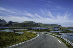 Fylkesveg 808, near Fredvang, Lofoten Islands, Norway