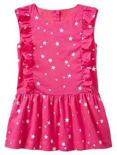 Star ruffle dress | Gap