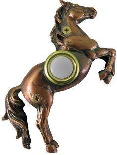 horse doorbell cover