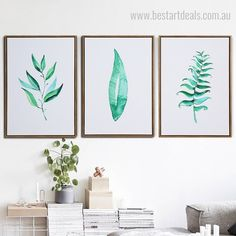 Hanging a botanical art print set is a stunning way to bring charm and beauty in sitting room space. #leafart #digitalart #artset #contemporaryart 3 Piece Canvas Art, Canvas Art Prints, Canvas Wall Art, Online Art Store, Shade Trees, Leaf Art, Botanical Art, Wall Ideas, Bedroom Wall
