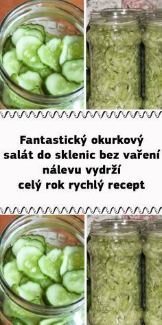 Marmalade, Pasta Salad, Pickles, Cucumber, Food And Drink, Homemade, Drinks, Cooking, Recipes