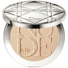 Diorskin Nude Air Healthy Glow Invisible Powder ($55) ❤ liked on Polyvore featuring beauty products, makeup, face makeup, face powder, beauty, beleza, cosmetics, powder, apparel & accessories and filler
