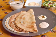I Camp in my Kitchen: Barley Dosa - Breakfast Recipe Breakfast Crepes, Crepes And Waffles, Dosa Recipe, Waffle Recipes, Cookbook Recipes, Food Allergies, Us Foods, Indian Food Recipes, Food To Make