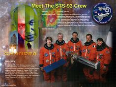 STS-93 Crew poster