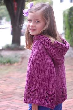 Knitted Poncho Patterns For Children Pattern For Knitted