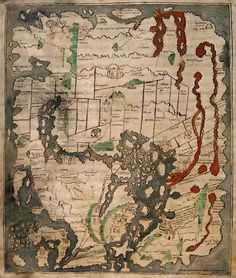 Mappa Mundi from the 11th Century