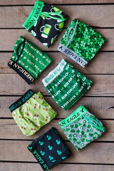 Get lucky with day inspired boxers and trunks. Men's Undies, Boxers Underwear, Calvin Klein Lingerie, Men's Briefs, Boxer Briefs, Paddys Day, St Patricks Day, American Eagle Outfitters, Mens Fashion