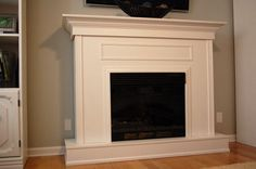 Building a Custom Electric Fireplace Surround | PlanItDIY