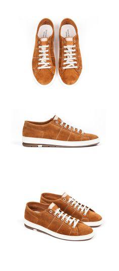 Heschung - Men spring summer collection - Sneakers Ronin - Kudu Fox #SS15 #Heschung