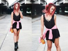 JC Girl Nün Visitsak From Bangkok Styles Her Riot Boot See What She Teams Them Up With Here!