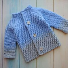 61 Ideas Knitting For Kids Boys Garter Stitch For 2019 Diy Crafts Knitting, Knitting For Kids, Baby Knitting Patterns, Crochet For Kids, Baby Patterns, Knit Baby Dress, Knitted Baby Cardigan, Hand Knitted Sweaters, Baby Sweaters