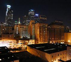 Downtown Los Angeles. Rosslyn Hotel.