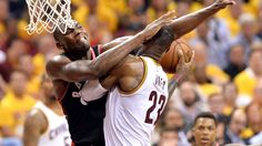LeBron James questions lack of flagrant fouls called against him