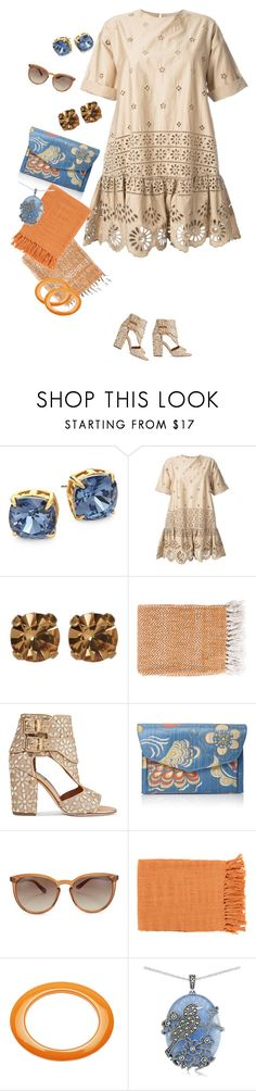 """""""Untitled #1279"""" by clothes-wise ❤ liked on Polyvore featuring Tory Burch, Sea, New York, Loren Hope, Surya, Laurence Dacade, Hayward, Valentino, Slater Zorn and Lord & Taylor"""