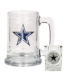 Take a look at this Dallas Cowboys  Boilermaker Set by Great American Products on #zulily today!