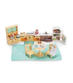 Oh the cozy kitchen set I love it I will probably get this one instead of the other one(I forget what it's called oops)