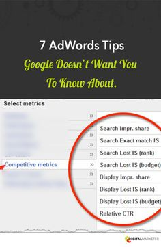 7 AdWords Tips Google DOESN'T Want You To Know About | Digitalmarketer.com