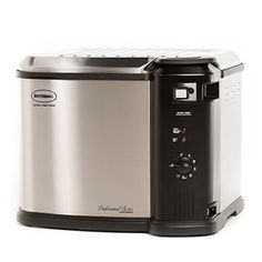 Butterball Electric Turkey Fryer Just in time for Thanksgiving! Butterball is offering off their Butterball Electric Turkey Fryer Analog w/Timer, 10 L. This is a one day deal so act fast to… Butterball Electric Turkey Fryer, Turkey Deep Fryer, Best Deep Fryer, Electric Deep Fryer, Best Turkey, Kitchen Items, Unique Home Decor, Home Appliances, Indoor