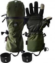 The Heat Company – HEAT 3 SMART Gloves For killing zombies in the arctic.