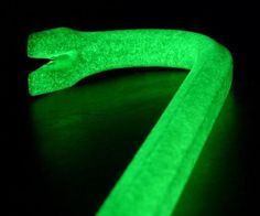 Glow-in-the-Dark Crowbar  Every zombie hunter could use one.