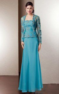 Delicate A-line Embroidered Dress With Removable Illusional Jacket