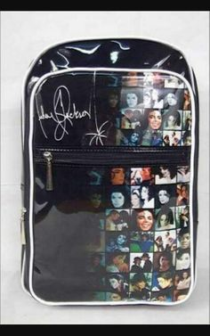 Michael Jackson bag!! In love with itt!!! ♡♡♡