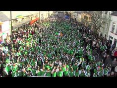 Glenties, Donegal -  World Record Attempt - most people gathered in one place dressed as leprechauns