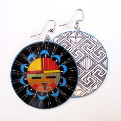 DAWA (Hopi Sun Face) Earrings by Beyond Buckskin Boutique