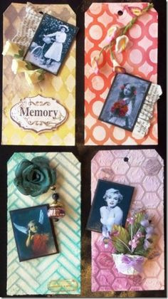 Tags with Texture - made for Scrapbook Dreams