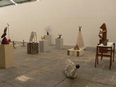 """Erika Verzutti, """"Pet cemetery"""", @ Fortes Vilaca, Sao Paolo, 2008"""