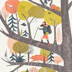 Resultado de imagem para garden illustration