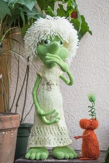 Lillelapsiku Loomaaed: Moor/ Granny witch crochet amigurumi old lady pattern Baby Mermaid Crochet, Crochet Fairy, Crochet Dragon, Crochet Baby Sandals, Crochet Baby Hats, Crochet Dolls, Crochet Blanket Tutorial, Crochet Headband Pattern, Crochet Humor