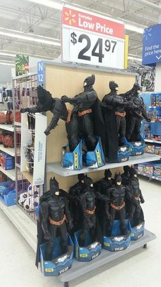 shopping at Wal-Mart!