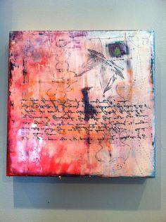 Encaustic by Nancy Tobey  10x10