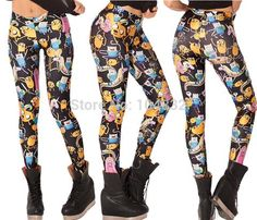 Cheap ball leggings, Buy Quality black leggings directly from China leggings plus Suppliers: EAST KNITTING 2015 Women's Adventure Time Bro Ball Leggings Montage Black Leggings Plus Size XL Leggings Store, Cheap Leggings, Women's Leggings, Black Leggings, Printed Trousers, Printed Leggings, Mermaid Leggings, Simple Sandals, Pants For Women