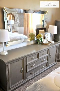 23 Decorating Tricks for Your Bedroom | Grey painted furniture ...