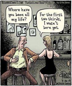 Funny dating cartoon