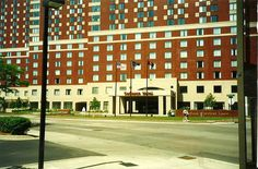 Radisson Hotel, now the Courtyard by Marriott - 1993