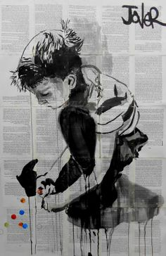 "Saatchi Art Artist: Loui Jover; Ink 2013 Drawing ""moments never replaced"""