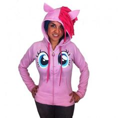 Pinkie Face Hoodie