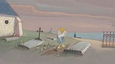 """""""Louise en Hiver"""" - Jean-François Laguionie (2016)"""