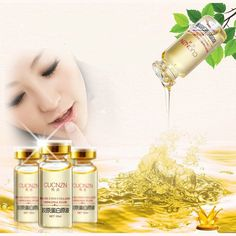 2pcs Hyaluronic Acid Collagen Liquid Whitening Cream Moisturizing Oil Lock The Bride Liquid Face Cream Beauty Face cosmetics