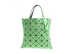 Authentic ISSEY MIYAKE BaoBao LUCENT Tote Bag Green #ISSEYMIYAKE #TotesShoppers
