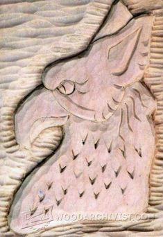 Relief Carving Techniques - Wood Carving Patterns and Techniques | WoodArchivist.com