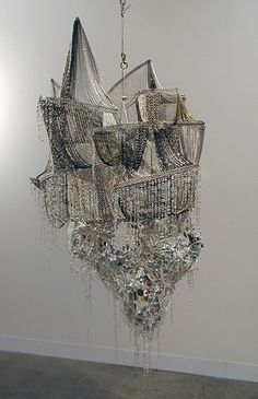 Lee Bul, I could see this over a grand dining table
