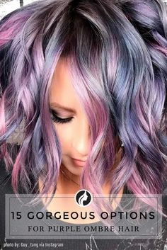 Love the colorswould never do it myself but its really are you daring enough for purple ombre hair you dont have to go solutioingenieria